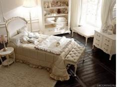 Роскошь и красота Италии в спальне